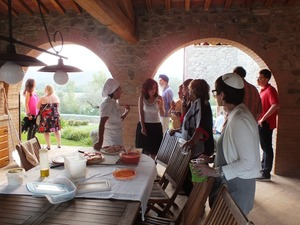 Serata evento con pizza in Toscana