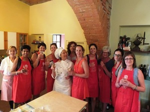 Cooking class al femminile in Valdichiana
