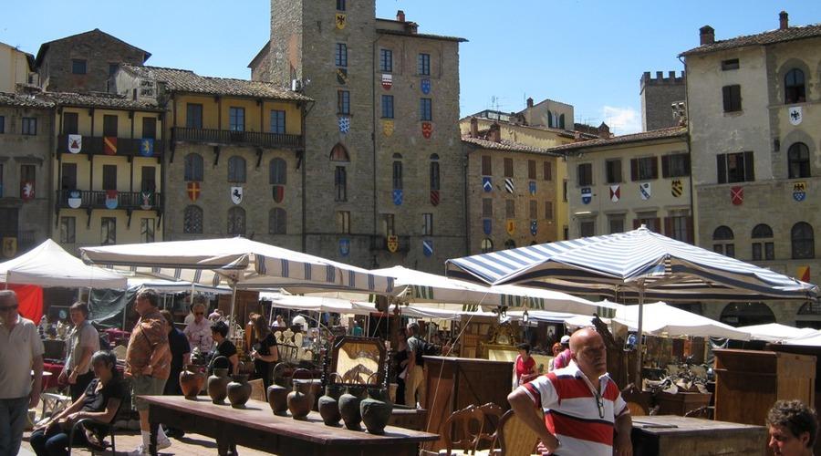 Tour e visite guidate cortona arezzo tour guidati for Arezzo antiquariato