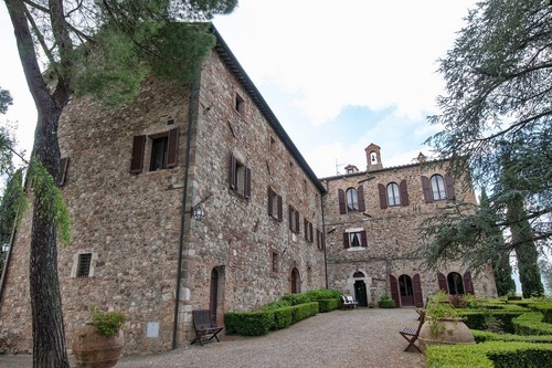 Borgo in Val D'Orcia